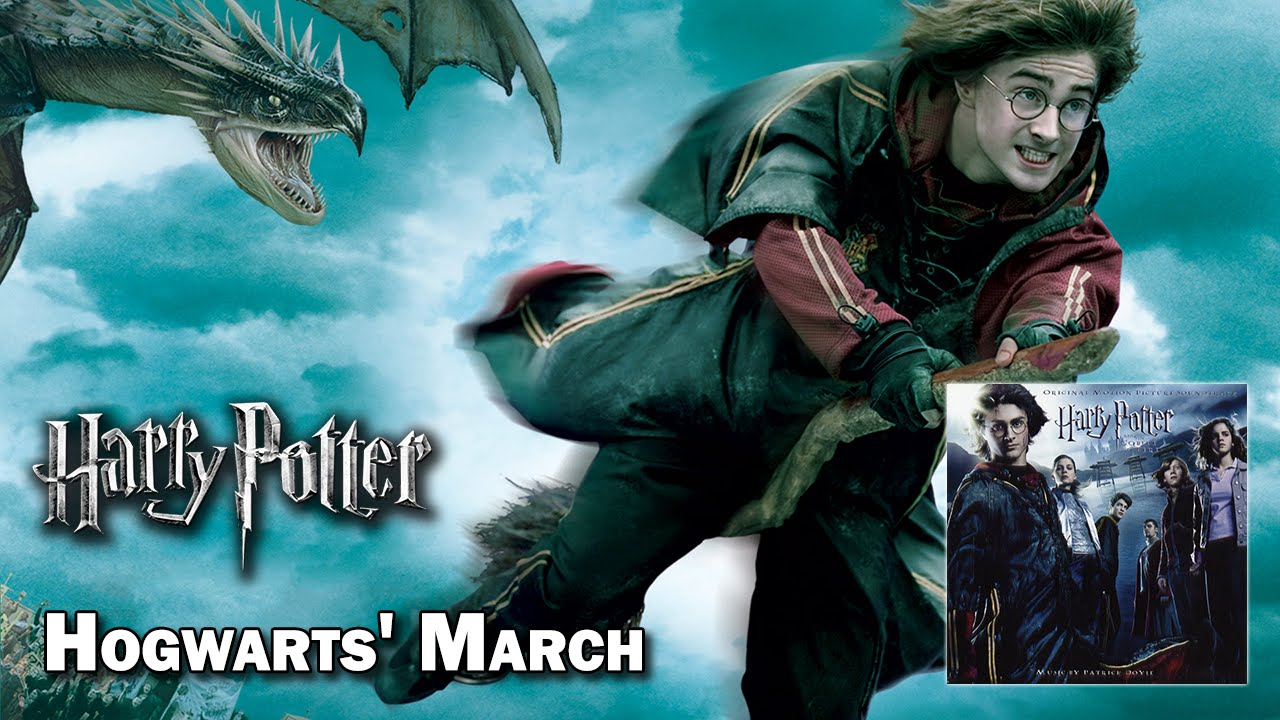 Hogwarts 39 march harry potter et la coupe de feu hq - Harry potter et la coupe de feu acteurs ...