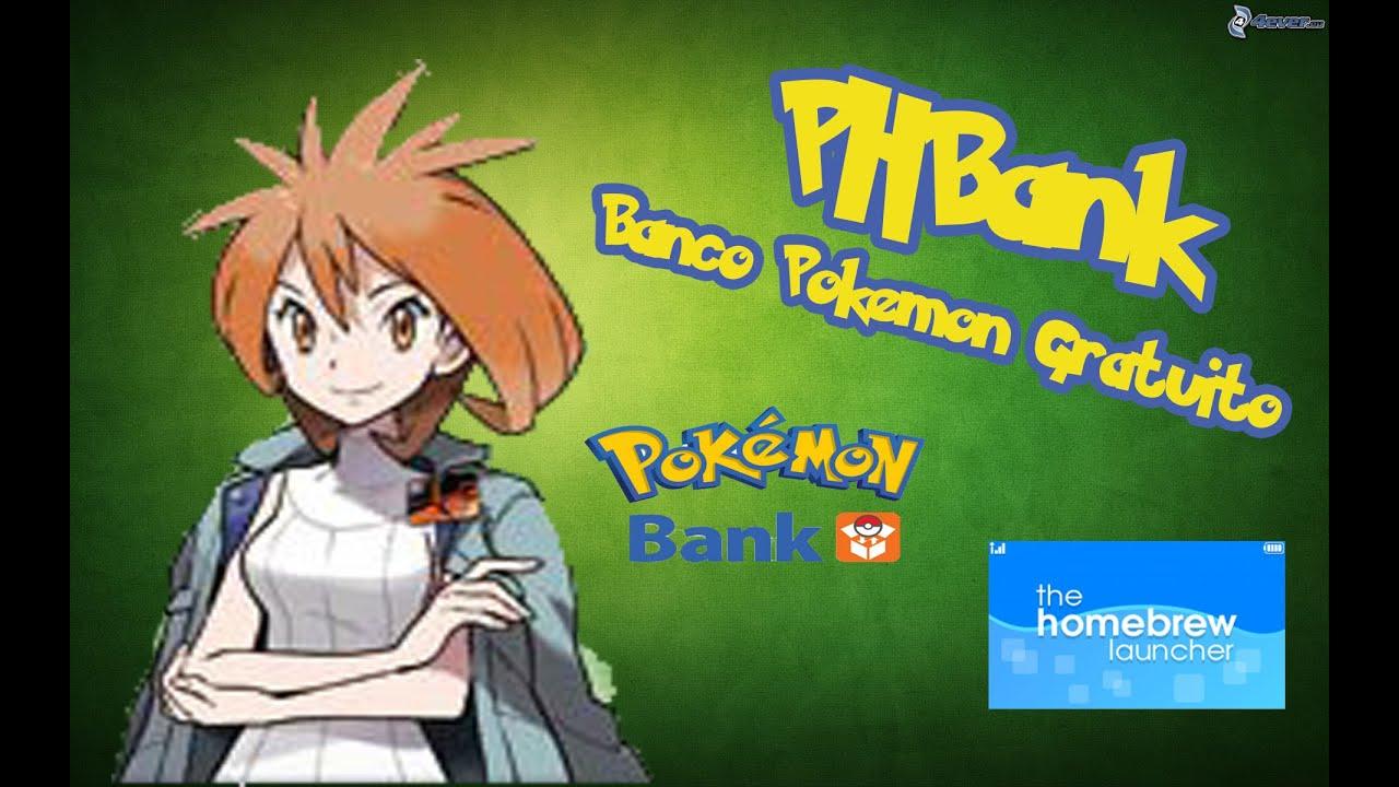 [Video Tutorial] PHBank: PokeBanco Gratuito en HomeBrew Launcher
