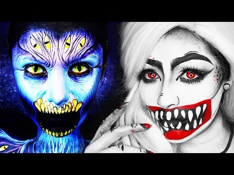 NO PHOTOSHOP! 11 INSANE Halloween Makeup IDEAS & Tutorials Compilation😱