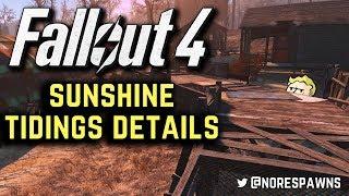 Fallout 4 - Sunshine Tidings Co-Op Pre-Mod Tour + Building