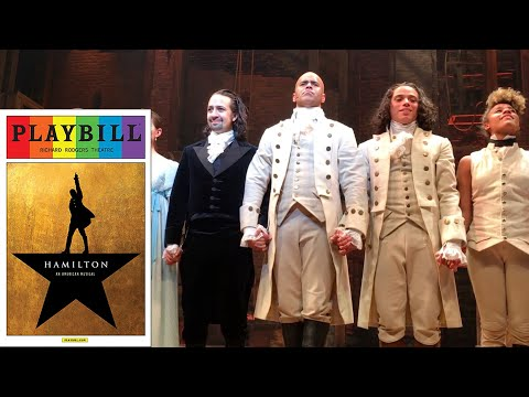 Hamilton Original Cast Curtain Call 6/15/16 and 9/23/15