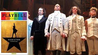 Hamilton Original Cast Curtain Call 6/15/16 and 9/23/15