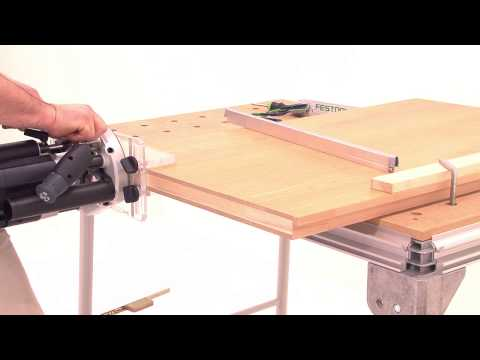 Festool TV-08-Routing Aid OF-FH - Routing Automatic Door Seals (updated Version)