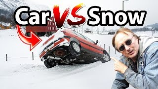 How to Prepare Car for Winter Weather (Car vs Snow) - DIY with Scotty Kilmer