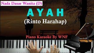 Rinto Harahap - Ayah Piano Karaoke Versi Wanita/Female Key
