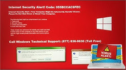 Internet Security Alert! Code: 055BCCAC9FEC Virus | Internet Scam Blackmail