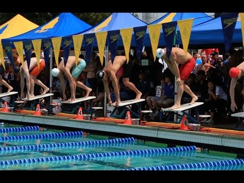 100 Yard Freestyle Nathan Adrian 41.13 at 2014 USMS Nationals