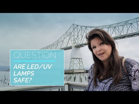 Are LED/UV Lamps Safe? -  Suzie's VLOG/Q&A EP3