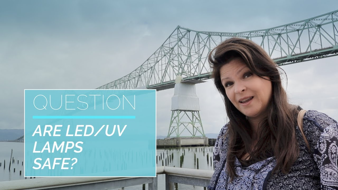 Are LED/UV Lamps Safe? - Suzie\'s VLOG/Q&A EP3 - YouTube