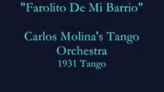"""""""Forolito De Mi Barrio""""  Tango - Carlos Molina (1931)"""