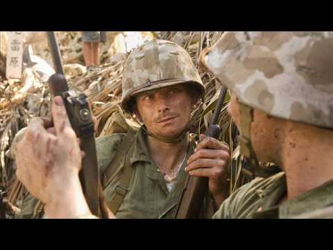 The Pacific Actor's and Real Marines