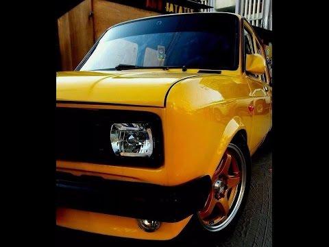 Fiat 128 Yellow لو عندك عربية صفراء تعال شوف رروووعة فيات 128 Youtube