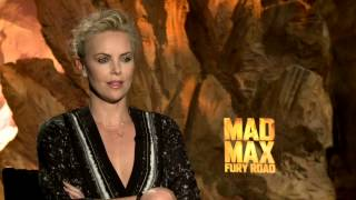 "Mad Max: Fury Road: Charlize Theron ""Imperator Furiosa""Official Movie Interview"