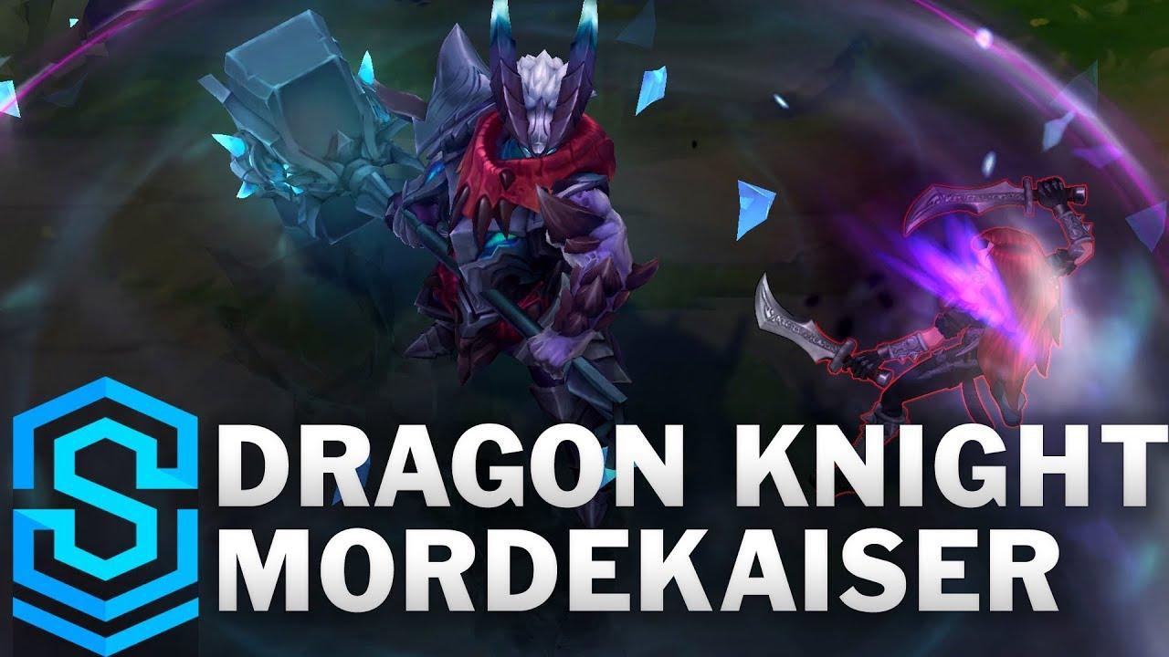 Dragon Knight Mordekaiser 2019 Skin Spotlight - League of Legends