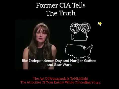 Former CIA agent tells the truth on propaganda.