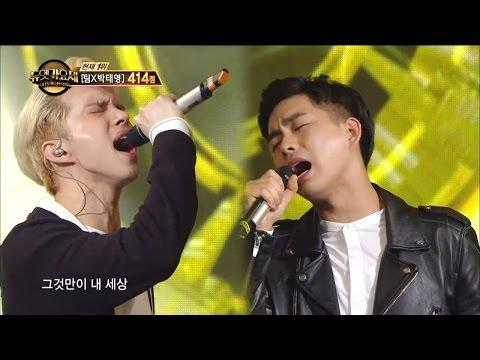 【TVPP】Ken(VIXX) - It's Only My World, 켄(빅스) - 1위 무대! '그것만이 내 세상' @Duet Song Festival