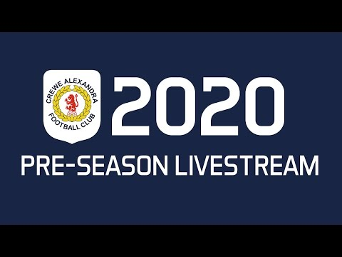 Youth Squad Legends - Crewe Alexandra (Pre-Season 2020)