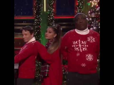 """A wish it was Christmas today"" Ariana on The Fallon show Mp3"