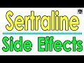 Sertraline SIDE EFFECTS - Sertraline (Zoloft) 50 mg - Prescription Drug