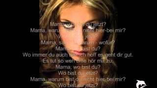 LaFee- wo bist du Mama mit Text