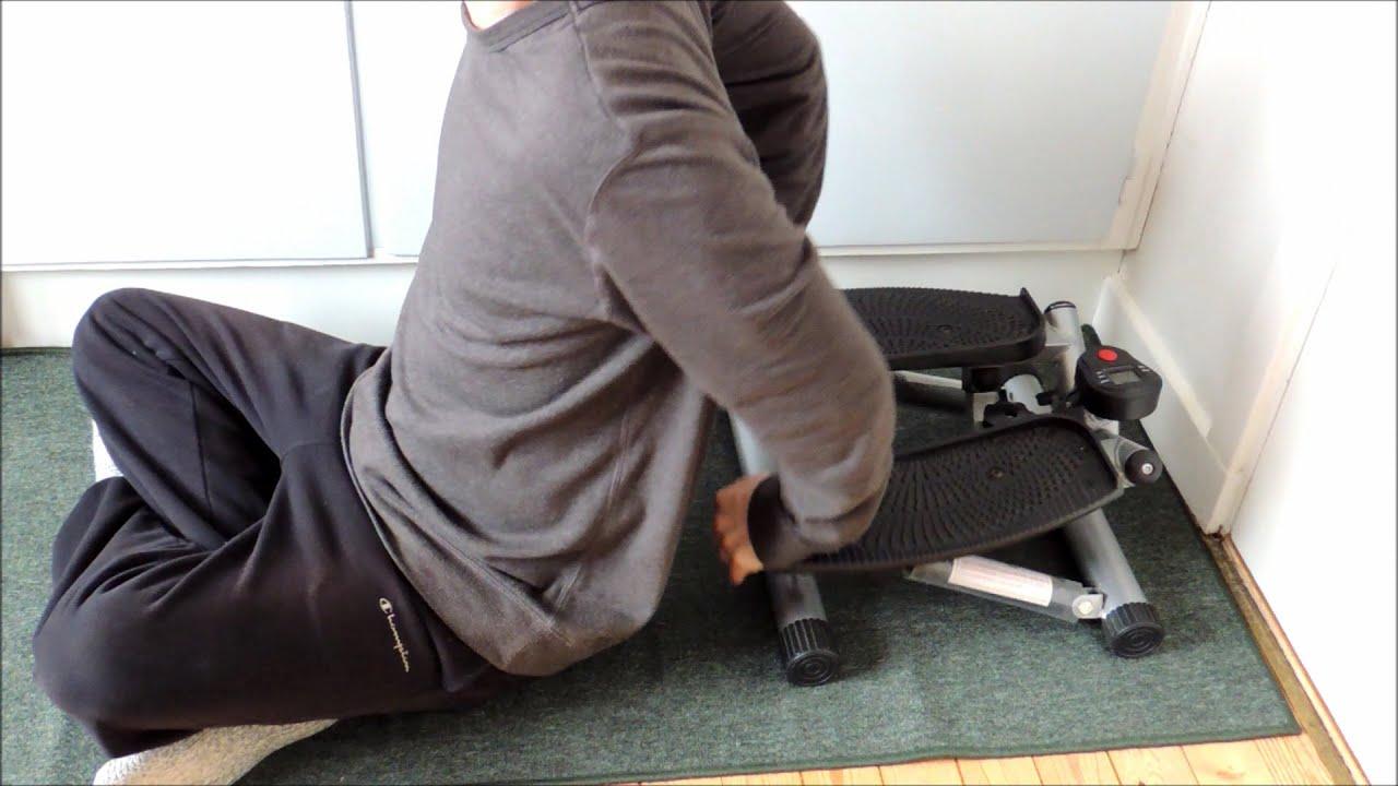 step machine workout