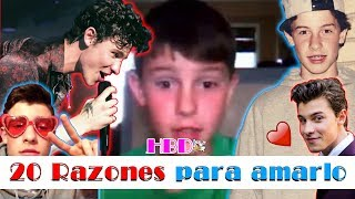 20 razones para amar a Shawn Mendes | #HappyBirthdayShawn