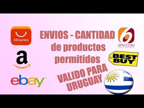 Amazon / Ebay / Aliexpress / Reglamentacion para URUGUAY