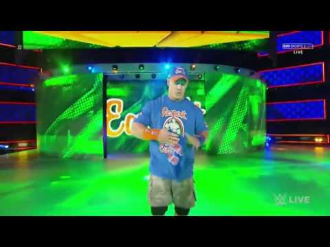 Waptubes Com   WWE John Cena Entrance 1 24 17 HD