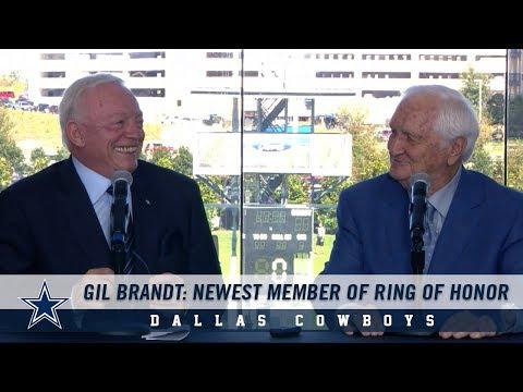 Gil Brandt: Dallas Cowboys Ring of Honor Announcement | Dallas Cowboys 2018