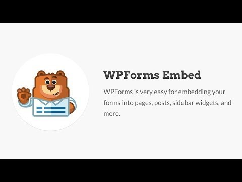 How to Embed A Form