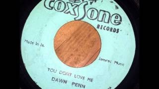 Dawn Penn You Dont Love Me aka No No No - Coxsone - Studio One