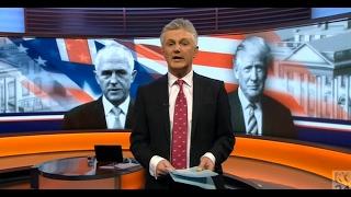 BBC World News: Trump v. Turnbull   3 Feb 2017