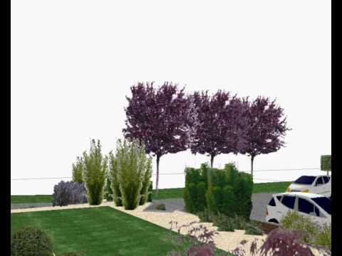 Etude de l 39 am nagement d 39 un jardin moderne japonais youtube for Amenagement jardin moderne