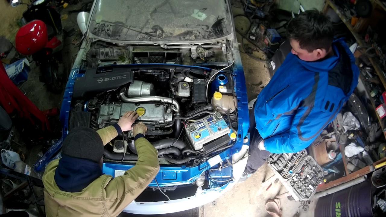 дизель двигатель опель 2.2 экотек незаводится