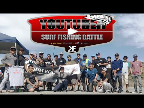 YOUTUBERS COMPETE!! | 2019 YouTuber Surf Fishing Battle