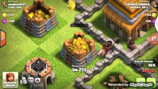 Clash of clans attack log