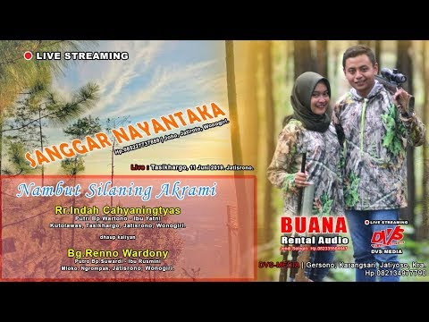 LIVE STREAMING Wedding Indah & Renno | DVS MEDIA | BUANA SOUND | SANGGAR NAYANTAKA
