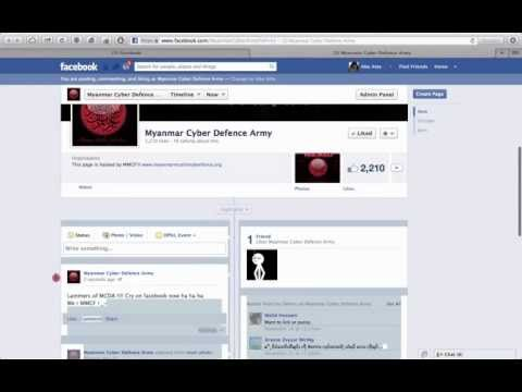 Anon mm and myanmar muslim cyber force hack racist budish hacker gmail facebook and website