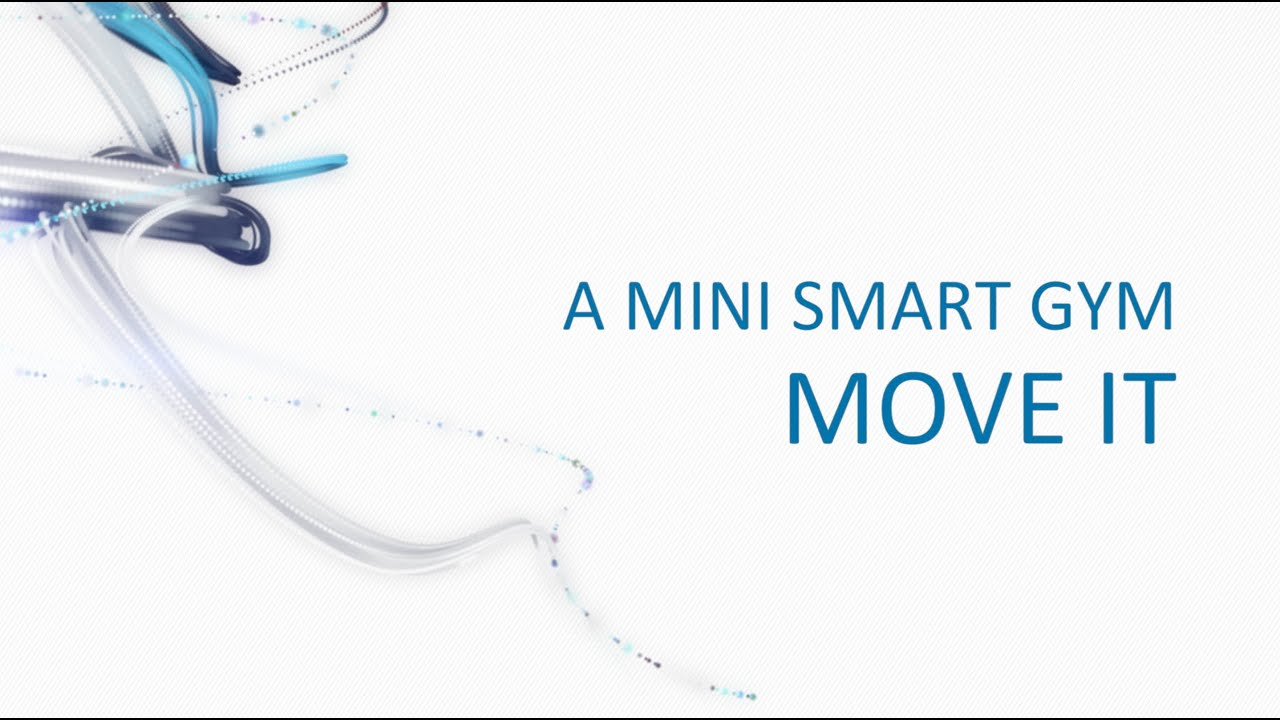 Move It - a mini home intelligent home gym - YouTube