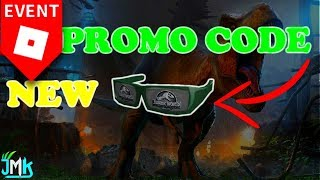 *NEW* PROMO CODE 2018 !! HOW TO GET JURASSIC WORLD SUNGLASSES IN ROBLOX (Expired)
