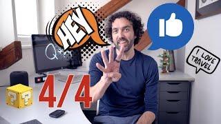 Q & A 4/4 - Jak spravuji fotky, děti & technologie & škola, prezentace v Keynote vs Powerpoint [4K]
