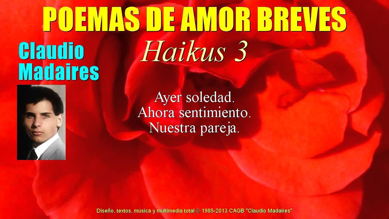 Poemas De Amor Breves Haikus De Amor 3 Youtube