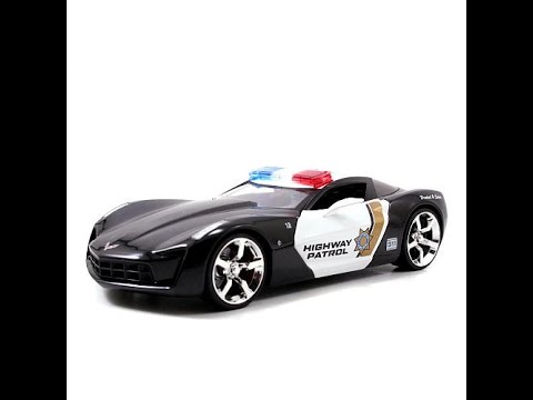 voiture de police jouet jouets voitures de police v hicules jouets pour enfants youtube. Black Bedroom Furniture Sets. Home Design Ideas