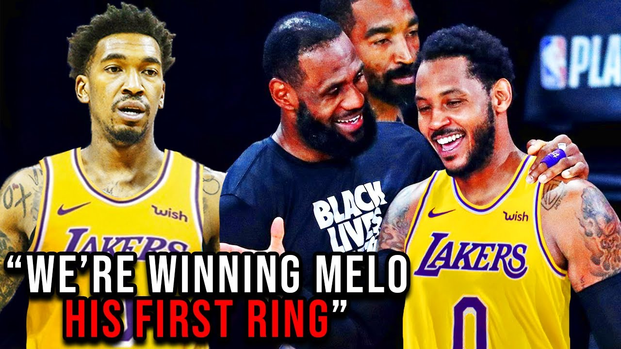 Carmelo Anthony just made the Lakers NBA Champion Favorites (ft Malik Monk)