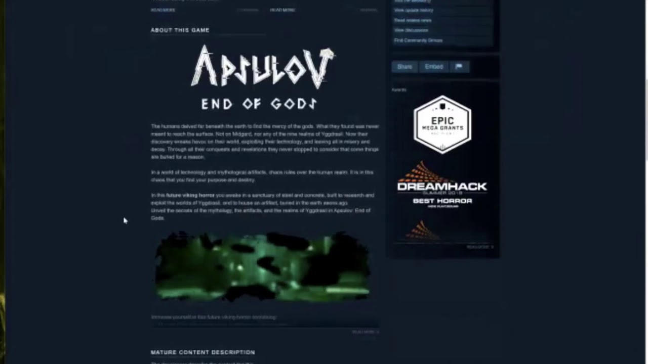 Gamasutra: Chris Zukowski's Blog - How Steam users see your game