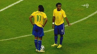 The Best Free Kicks of Ronaldinho - Impossible To Forget