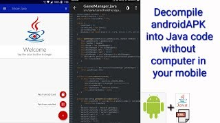 dECOMPILE APK TO JAVA  REVERSING ANDROID APP  APK EDITOR PRO