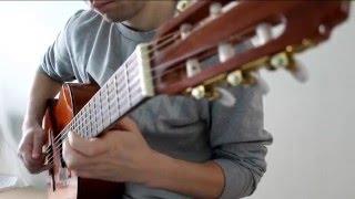 Красивая блюзовая мелодия на гитаре!