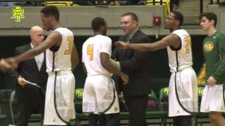 Tech Men's Basketball vs. Ouachita Baptist Highlights - 1/12/17