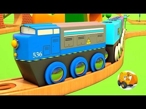 Trenes infantiles - Videos de trenes con Coches Inteligentes (4 episodios)